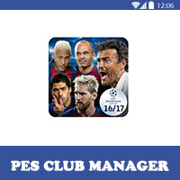 لعبة بيس 2016 PES CLUB MANAGER