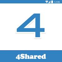 تحميل برنامج فور شيرد للاندرويد 4Shared Dwonload مجانا عربي 2016