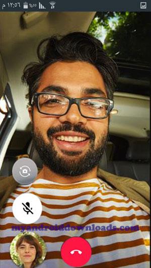 الرد على مكالمات صوت و صورة في تطبيق قوقل ديو للاندرويد - تحميل برنامج Google Duo جوجل ديو