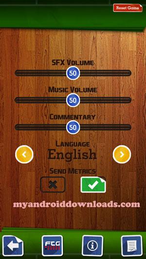 تحميل لعبة سكور هيرو للاندرويد Score Here مجانا لعبة كرة القدم 2016 - التحكم في اعدادات الصوت و اللغة من خلال تنزيل score hero للاندرويد