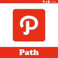 تحميل برنامج باث للاندرويد Path شرح برنامج باث تطبيق باث كيف استخدمه