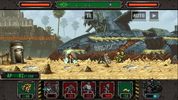 تحميل لعبة حرب الخليج للاندرويد مجانا METAL SLUG DEFENSE كاملة - افضل العاب حرب للاندرويد