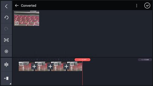 التعديل على الفيديوهات في برنامج kinemaster