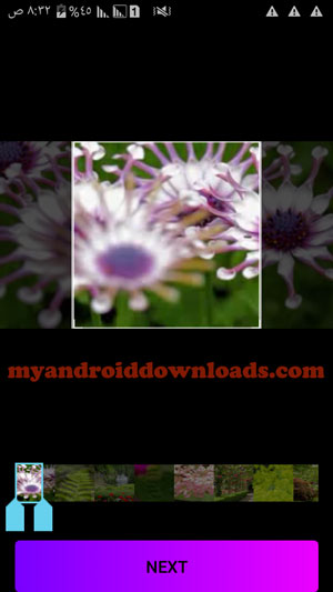 امكانية تحديد مقطع من الفيديو لتحويله الى قطعة فنية باستخدام Artisto - تحميل تطبيق Artisto للاندرويد