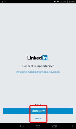 انضم إلى لينكد ان أو أنشأ حساب جديد - طريقة التسجيل في لينكد ان