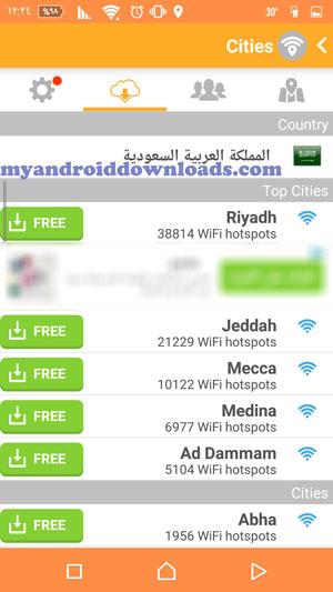 تحميل برنامج wifi map للاندرويد واي فاي ماب الاصلي مجانا 2016 - عرض لمدن الدولة التي من خلالها تكتشف شبكات الواي فاي من خلال برنامج واي فاي ماب للاندرويد