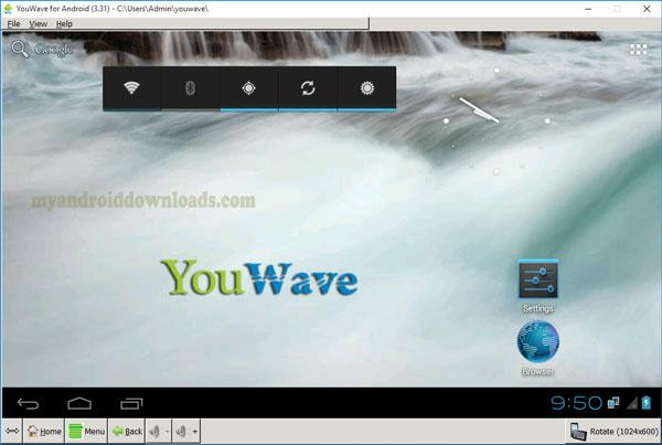 تحميل برنامج youwave للكمبيوتر يو ويف اندرويد للكمبيوتر مجانا 2016 - واجهة برنامج youwave محاكي الاندرويد على الكمبيوتر اخر اصدار