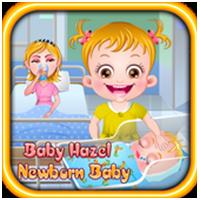 تحميل لعبة بيبي هازل والمولود الجديد Baby Hazel Newborn Baby