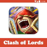 لعبة clash of lords،تحميل العاب كلاش