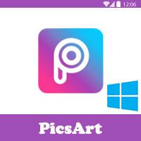 تحميل برنامج PicsArt للكمبيوتر بيكس ارت دمج الصور مجانا عربي 2016
