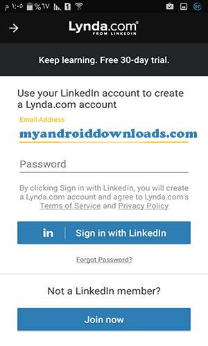 التسجيل في مساقات تطبيق ليندا من خلال حساب اللينكد ان - تحميل أفضل برنامج للتعليم عن بعد