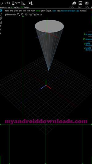 امكانية الرسم الهندسي في برنامج رسم هندسي ثلاثي الابعاد – تحميل برنامج رسم ثلاثي الابعاد للاندرويد