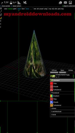 امكانية اضافة ملصقات في برنامج رسم هندسي ثلاثي الابعاد مجانا - تحميل برنامج رسم ثلاثي الابعاد للاندرويد