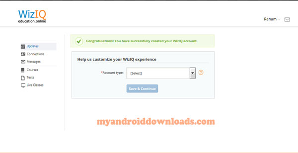 تحميل برنامج Wiziq للاندرويد ما هو برنامج Wiziq؟ شرح برنامج Wiziq - التسجيل من خلال برنامج wiziq للاندرويد