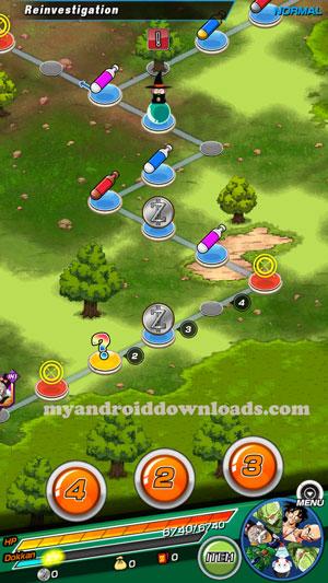 كرات دراغون بول الدالة على مناطق في لعبة حرب دراغون بول - تحميل لعبة دراغون بول للاندرويد