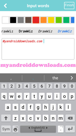 طريقة اضافة نص في برنامج drawwiz برنامج لرسم الانمي برنامج رسم الانمي بدون تحميل - تحميل برنامج رسم الانمي للاندرويد