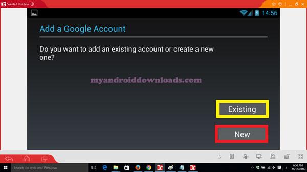 امكانية اعداد حساب جوجل بلاي في برنامج droid4x شرح droid4x تحديث برنامج droid4x - تحميل برنامج droid4x للكمبيوتر