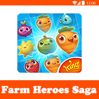 تحميل لعبة farm heroes saga للموبايل اللعبة الأكثر شهرة بعد كاندي