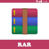 تحميل برنامج ضغط الملفات للاندرويد RAR ضغط الملفات الى اصغر حجم
