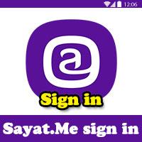 طريقة التسجيل في موقع sayat.me