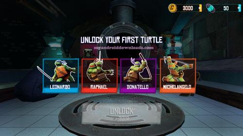 اختيار احدى سلاحف النينجا لعبة سلاحف النينجا للتحميل - تحميل لعبة سلاحف النينجا للاندرويد