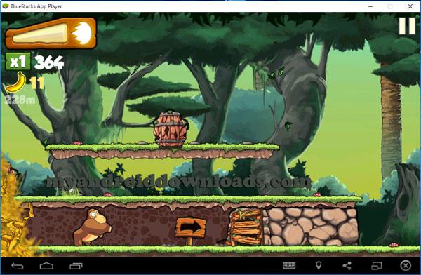 تحميل لعبة القرد والموز للكمبيوتر Banana kong من خلال بلو ستاك - لعبة Banana kong للكمبيوتر