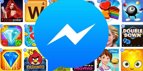 فيس بوك تختبر ميزة تفعيل الالعاب من خلال ماسنجر فيس بوك