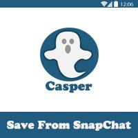 برنامج تحميل فيديو من السناب شات Casper