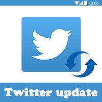 تحديث تويتر الجديد 2017 twitter update تحديث التويتر الجديد apk تويتر بث مباشر