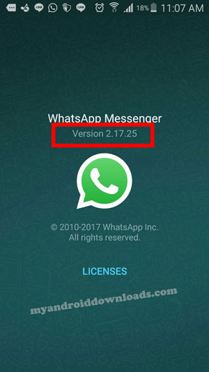 تحميل تحديث الواتس اب الجديد