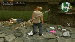 يعتدي الصبي المشاكس على الطلاب الاخرين بعد تحميل لعبة bully للاندرويد