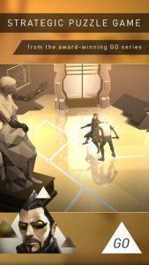 جانب من لعبة Deus Ex GO - Puzzle Challenge - ( تخفيضات راس السنه - تخفيضات راس السنه 2017 - عروض جوجل بلاي - عروض راس السنة - عروض السنة الجديدة )