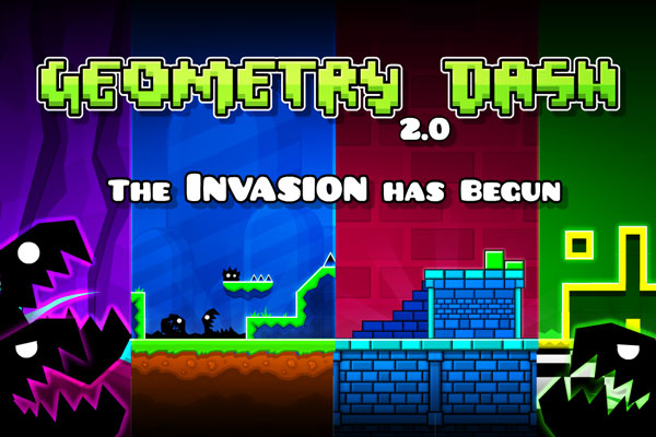 مغامرات لعبة Geometry Dash - ( تخفيضات راس السنه - تخفيضات راس السنه 2017 - عروض جوجل بلاي - عروض راس السنة - عروض السنة الجديدة )