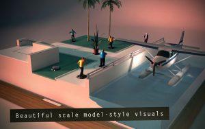 تصميم جرافيكي على شكل نموذج مصغر في لعبة Hitman Go - افضل الالعاب المدفوعة للاندرويد تحميل العاب مدفوعه للاندرويد تحميل العاب مدفوعة للاندرويد تحميل العاب اندرويد مدفوعة