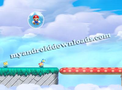 الفقاعات Bubbles في لعبة سوبر ماريو للاندرويد