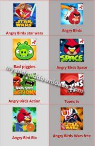 العاب Angry Birds السابقة