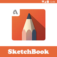 برنامج sketchbook pro افضل برنامج رسم للاندرويد
