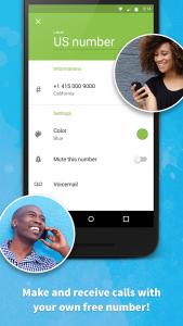 إمكانية إجراء مكالمات بإستخدام برنامج يعطيك رقم وهمي