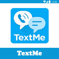 TextMe من قائمة افضل برنامج لانشاء رقم امريكي
