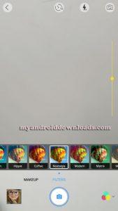 يسمح لك تطبيق يوكام التقاط صورة لاجراء تعديلات عليها مباشرة