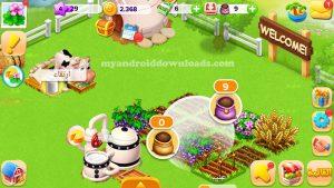 تسميد النباتات لتسريع نموها في لعبة مزرعتنا السعيدة بدون فيس بوك