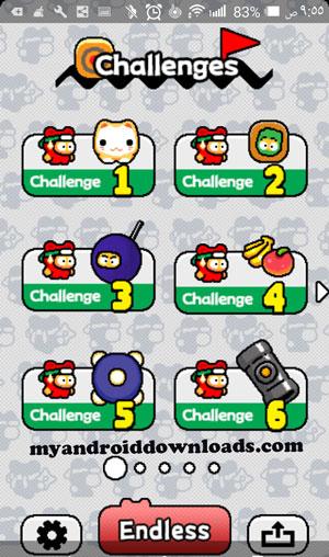تحديات لعبة نينجا سبينكي