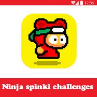 تحميل لعبة Ninja Spinki Challenges للاندرويد