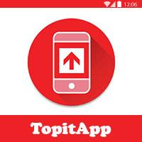 تحميل برنامج TopitApp للاندرويد شحن رصيد مجانا في كل الدول Mobile Recharge