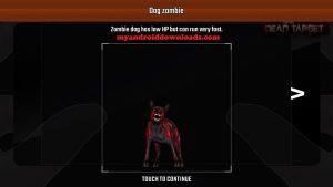 لاتقتصر المعركة فقط على الاشخاص وانما هناك حيوانات شرسة ايضا بعد تحميل dead target للاندرويد
