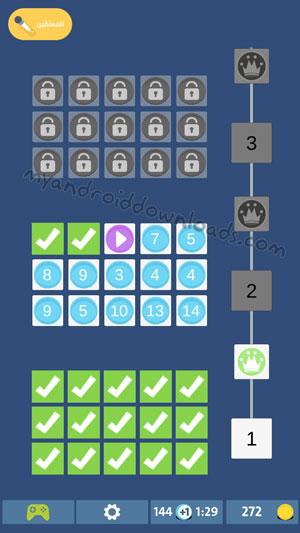 الشاشة الرئيسية بعد تحميل لعبة احفورة للاندرويد - لعبة احفورة حلول