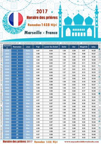 امساكية رمضان 2017 مرسيليا فرنسا تقويم رمضان 1438 Ramadan Imsakiye 2017 Marseille France