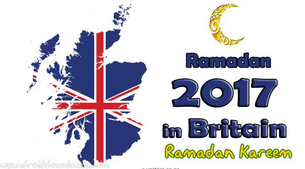تحميل امساكية رمضان 2017 بريطانيا - امساكية رمضان 1438 بريطانيا- تقويم رمضان 1438 بريطانيا Ramadan 2017 Timetable UK