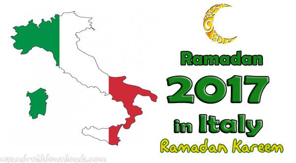 تحميل امساكية رمضان 2017 ايطاليا تقويم رمضان 1438 هـ Ramadan Imsakia
