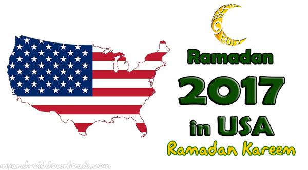 تحميل امساكية رمضان 2017 امريكا - امساكية رمضان 1438 امريكا - تقويم رمضان 1438 امريكا Ramadan 2017 USA